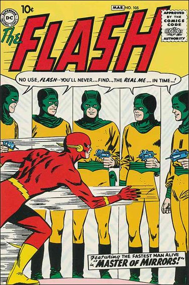 Flash (1959) 105-A by DC