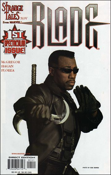 Blade (1998) 1-B by Marvel