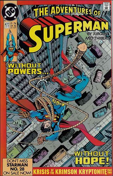 Adventures of Superman (1987) 472-A by DC