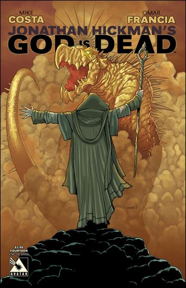 God is Dead 14-C by Avatar Press