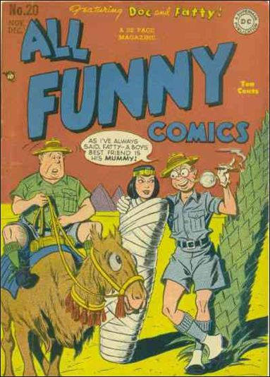 All Funny Comics 20-A by DC