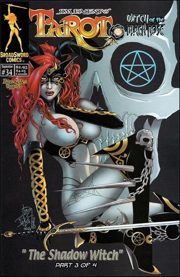 Tarot: Witch of the Black Rose 34-B by BroadSword Comics