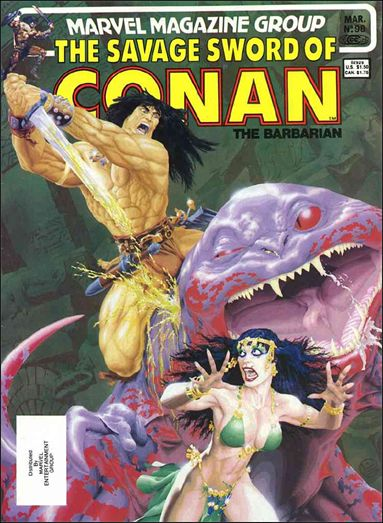 Savage Sword of Conan (1974) 98-A by Marvel