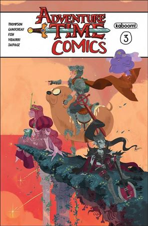Adventure Time Comics 3-A