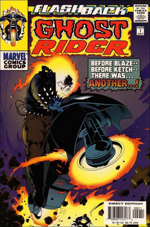 Ghost Rider (1990) -1-A by Marvel