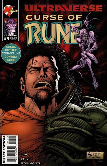 Curse of Rune 4-A by Malibu