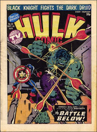 Hulk Comic (UK) 30-A by Marvel UK