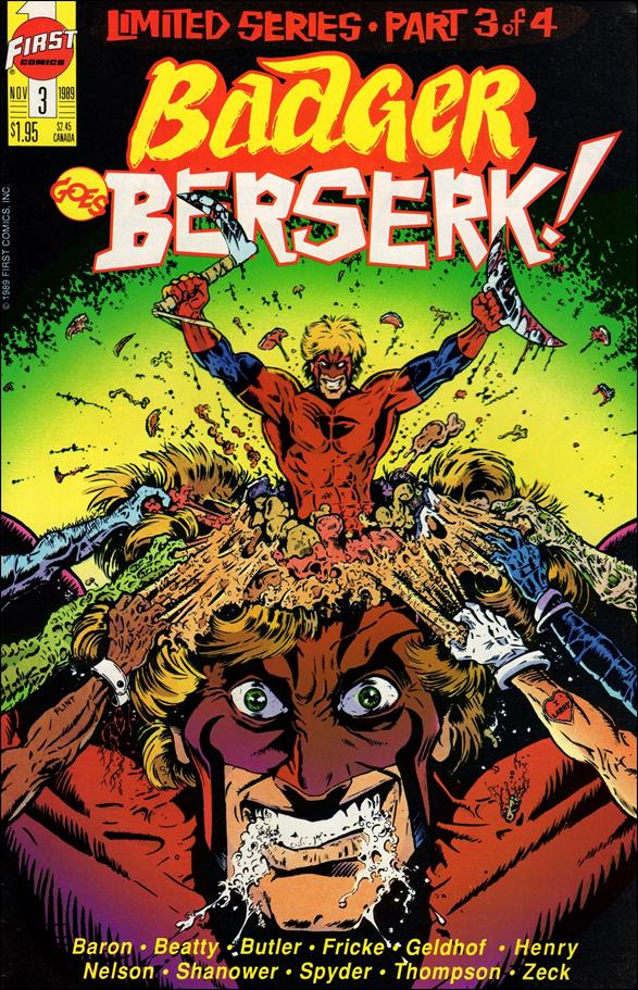 Badger Goes Berserk 3-A by First