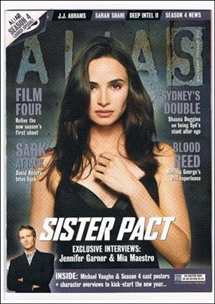 Alias: The Official Magazine 8-B