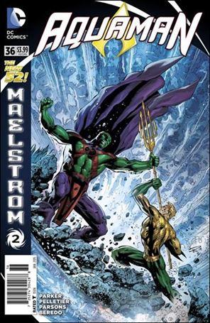Aquaman (2011) 36-A