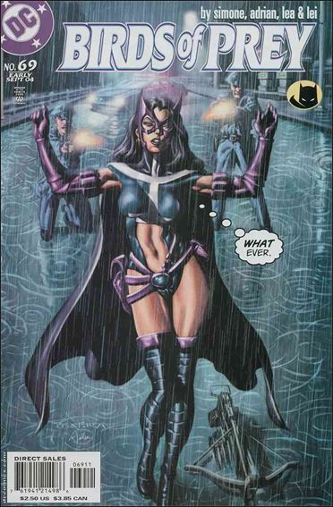Birds of Prey (1999) 69-A by DC