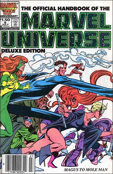 Official Handbook of the Marvel Universe (1985) 8-A by Marvel