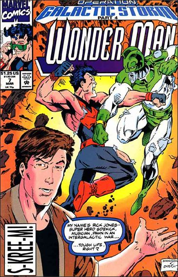 Wonder Man (1991) 7-A by Marvel
