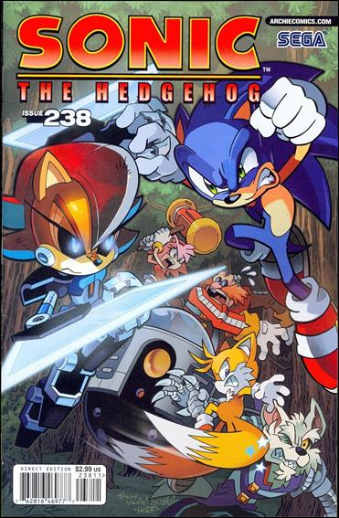 Sonic the Hedgehog (1993) 238-A by Archie