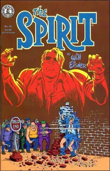 Spirit (1983) 21-A by Kitchen Sink