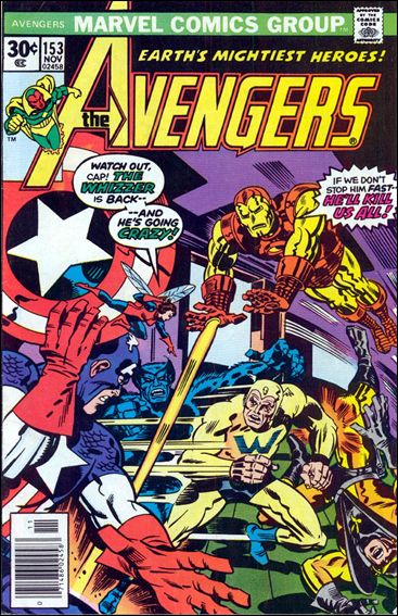 Avengers (1963) 153-A by Marvel