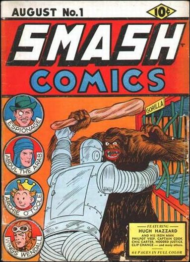 Smash Comics (1939) 1-A by Quality