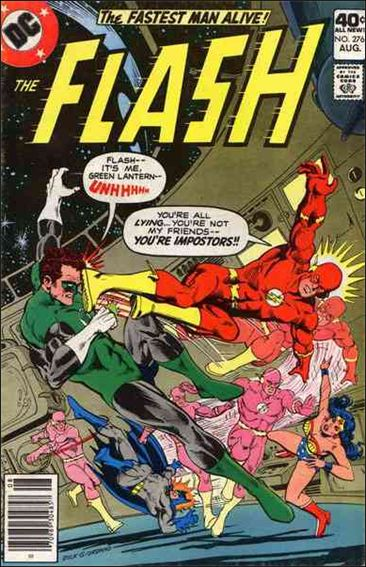 Flash (1959) 276-A by DC