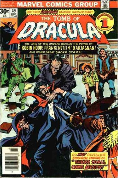Tomb of Dracula (1972) 49-A by Marvel