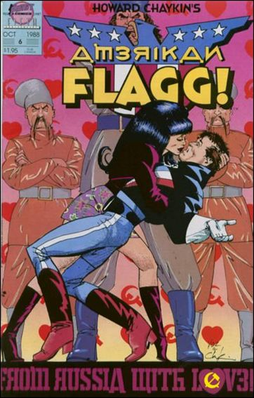 American Flagg! (1988) 6-A by First