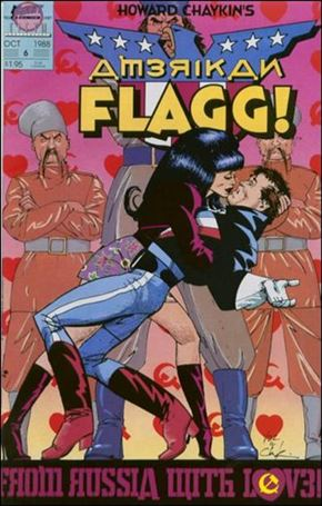 Howard Chaykin's American Flagg!  6-A