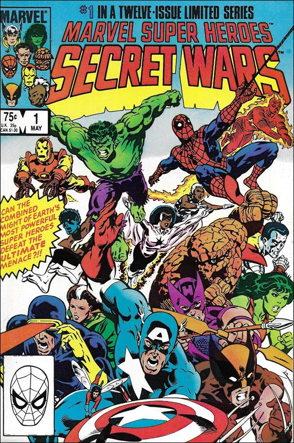 Marvel Super Heroes Secret Wars 1-A by Marvel