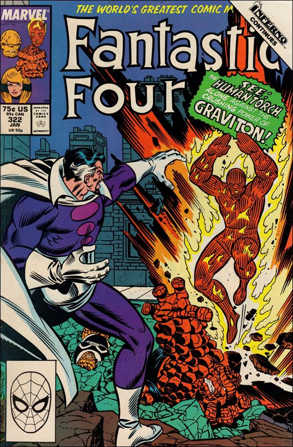 Fantastic Four (1961) 322-A by Marvel