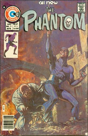 Phantom (1962) 70-A by Gold Key