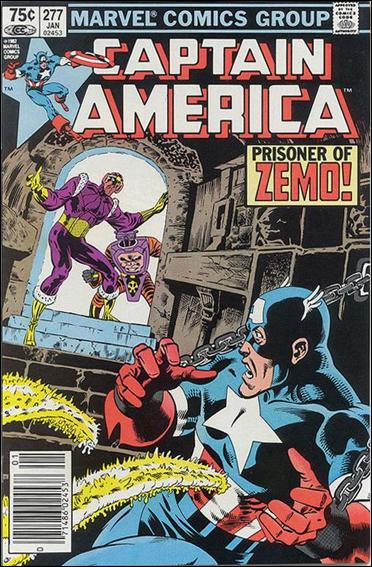 Captain America (1968) 277-B by Marvel
