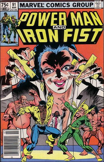 Power Man and Iron Fist (1978) 91-B by Marvel
