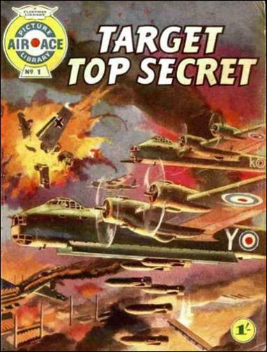 Air Ace Picture Library 1-A by Fleetway