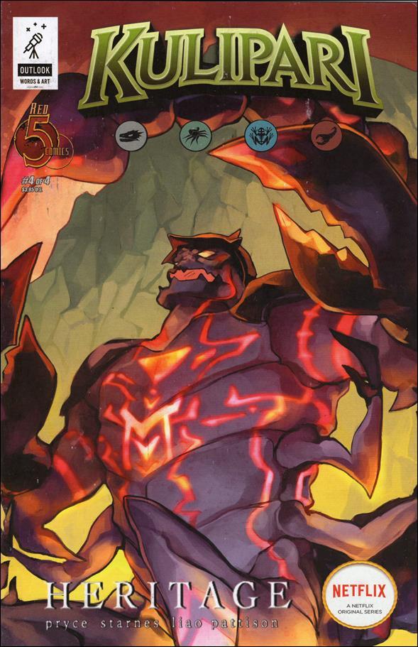 Kulipari:  Heritage 4-A by Red 5 Comics