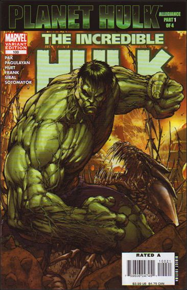 Incredible Hulk (2000)  100-B by Marvel