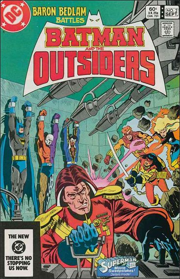 Batman and the Outsiders (1983) 2-A by DC