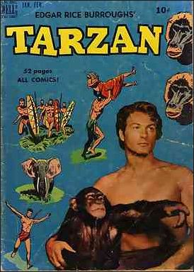 Tarzan (1948) 13-A by Dell