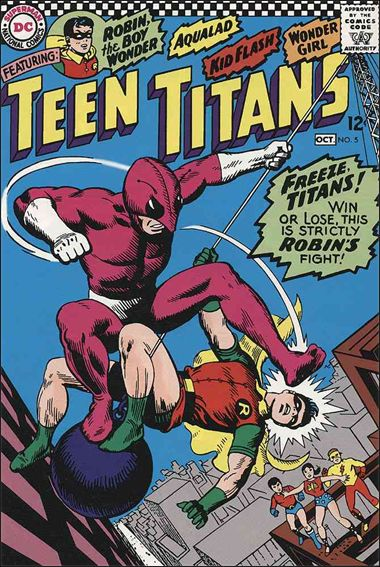 Teen Titans (1966) 5-A by DC