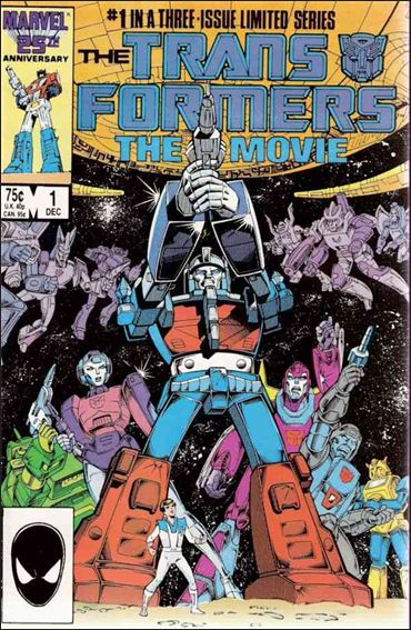 Transformers: The Movie 1-A by Marvel