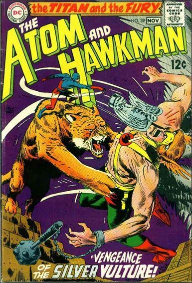 Atom & Hawkman 39-A by DC