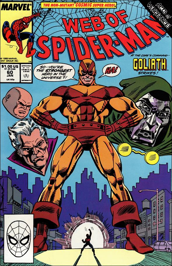 Web of Spider-Man (1985) 60-A by Marvel