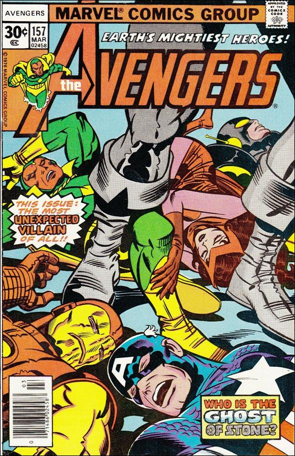 Avengers (1963) 157-A by Marvel