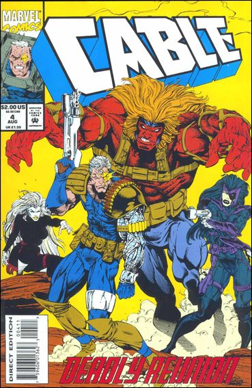 Cable (1993) 4-A by Marvel
