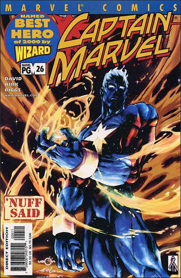Captain Marvel (1999) 26-A by Marvel