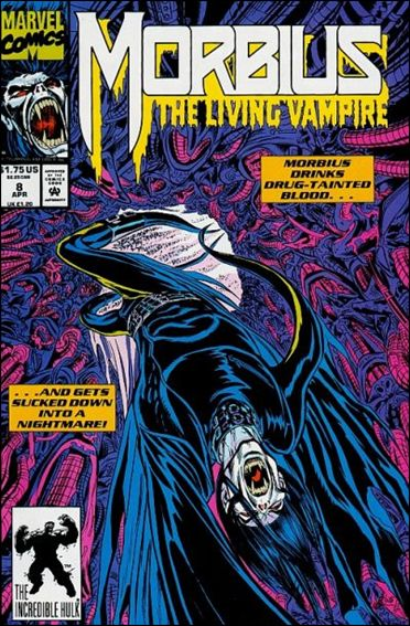 Morbius: The Living Vampire (1992) 8-A by Marvel