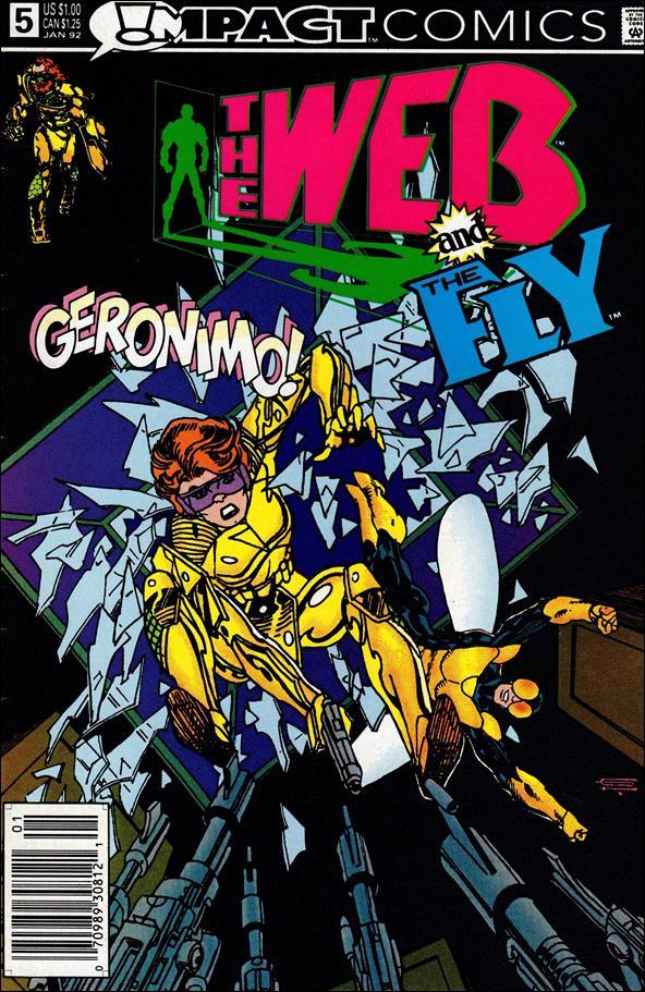 Web (1991) 5-A by Impact Comics