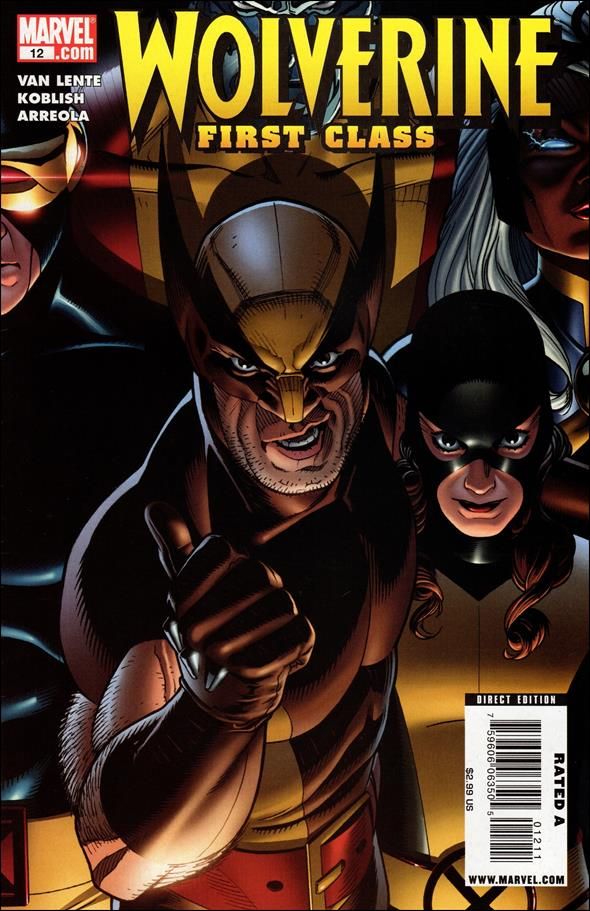 Wolverine: First Class 12-A by Marvel