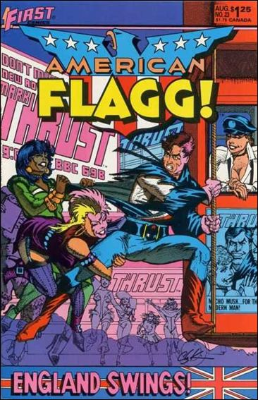 American Flagg! (1983) 23-A by First