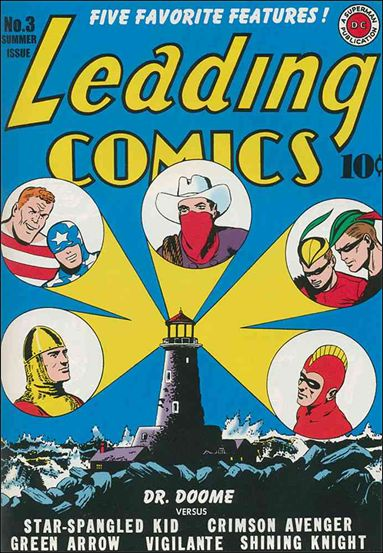 Leading Comics 3-A by DC