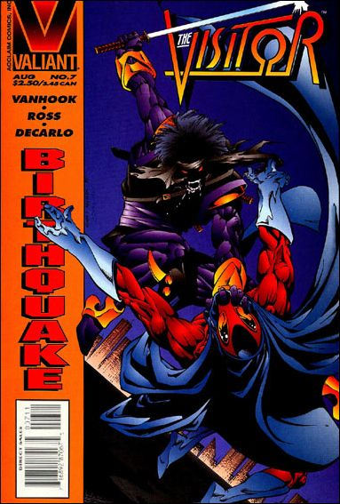 Visitor (1995) 7-A by Valiant