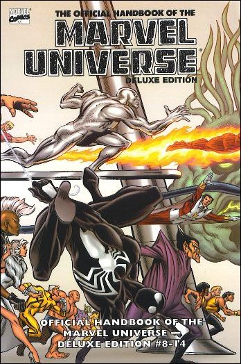 Essential Official Handbook of the Marvel Universe - Deluxe Edition 2-A by Marvel