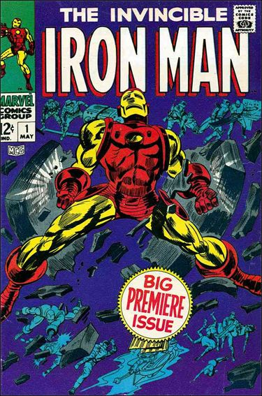 Iron Man (1968) 1-A by Marvel